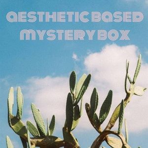 ❀ AESTHETIC BASED MYSTERY BOX ❀